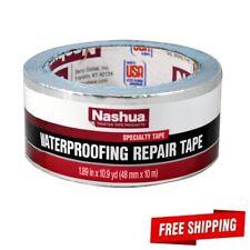 "Nashua Waterproofing Repair Foil Tape 361-11 1.89""x10.9 yd butyl sheet metal"