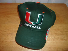 Miami Hurricanes 5 Time Champion Hat Cap NWT Free Shipping!