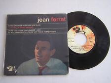 EP 4 TITRES VINYLE 45 T , JEAN FERRAT , BOF LA VIEILLE DAME INDIGNE . VG  / EX .