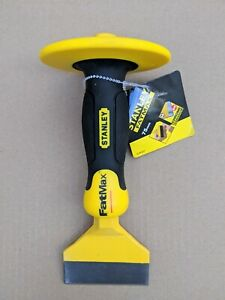 STANLEY FATMAX 75MM BOLSTER CHISEL WITH GUARD