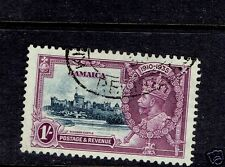 JAMAICA #109-112 Silver Jubilee used cds