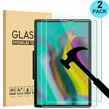 2X Samsung Galaxy Tab A 10.1 SM-T510 /T515 Tempered Glass Screen Protector