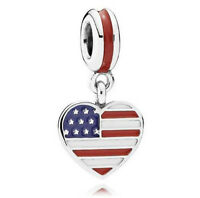 New European Silver CZ Charm Beads Fit sterling 925 Necklace Bracelet Chain 8U7
