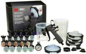 3M Performance Spray Gun Starter Kit, 26778 with PPS 2.0 Paint Spray Cup System