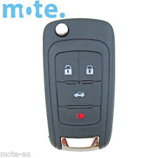 Holden Barina/Cruze/Trax 4 Button Remote Flip Key Blank Shell/Case/Enclosure