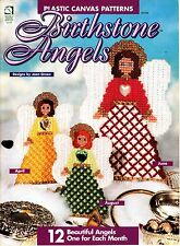 Plastic Canvas Birthstone Angels (1996, House of White Birches PC Booklet)