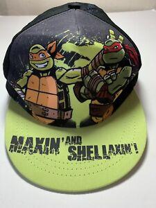 "Teenage Mutant Ninja Turtles Boys' ""Maxin' and Shellaxin'!"" Flatbrim EUC 5977"