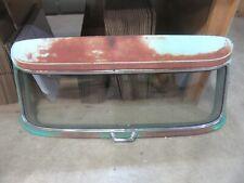 1958 Chevrolet Brookwood wagon rear upper hatch back tail gate glass frame door