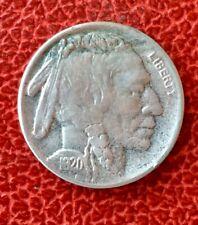 Etats-Unis - U.S.A. -   Rare  monnaie de  5 Cents  1920 D
