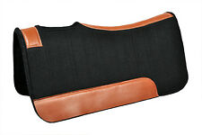 Western Brown Felt Pad with Leather Lining 34 x 32 ( 20MM)