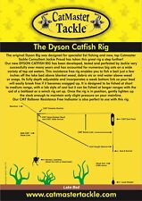CatMaster Tackle Dyson Rig With Trokar Barbless Hook