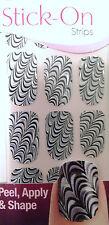 Kiss Nails Stick- On Nail Strips Nail Appliques # 58963 Salsa Salsa Limited Edtn