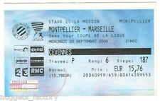 Billet  / Place  OM Olympique de Marseille - MHSC vs OM  ( 065 )