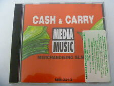 RARE LIBRARY SOUNDS MEDIA MUSIC CASH & CARRY LIFESTYLE  FREEPOST CD