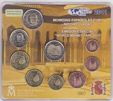 SPANJE WMF WORLD MONEY FAIR SET 2011