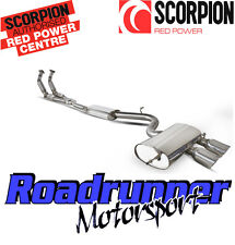 Scorpion Golf R32 MK5 Exhaust Sports Cats Downpipes & Cat Back System Resonated