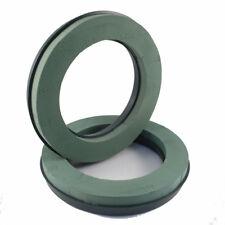 2 x Oasis® foam plastic base Wreath Rings 14 inch 36cm