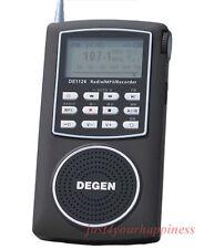 Weltempfänger Degen DE1126 radio FM/AM.MW.SW/ MP3 player 4GB
