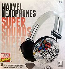 iHip MVF-HP28-RT4 Marvel Comics Thor Pro Audio On-Ear Headphone w/ In-line Mic