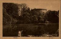 Goslar alte Postkarte  ~1910/20 Blick auf den Zwinger See Bäume ungelaufen