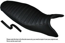 Diseño 3 Gris Stitch personalizado se adapta a Triumph Street Triple 675 07-12 cubierta de asiento