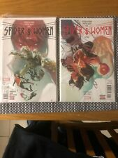 MARVEL COMICS SPIDER-WOMEN - ALPHA #1 & OMEGA #1 SPIDER-GWEN SILK SPIDER-VERSE