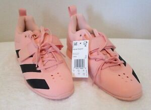 NWT Adidas Womens AdiPower Weightlifting 2 Shoes 8 Glow Pink/Black MSRP$200