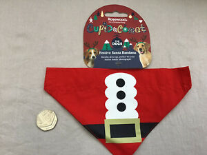 Rosewood Dog Christmas Santa Bandana Brand New With Tag