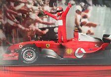 Hotwheels Michael Schumacher 2004 World Champion