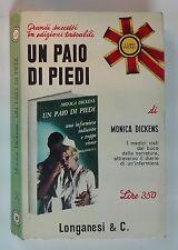 61593 Monic Dickens - Un paio di piedi - Longanesi & C. 1967 (I ediz)