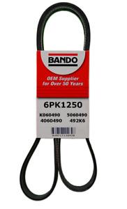 BANDO 6PK1250 Drive Belt Fit TOTOTA L4 2.7L Highlander 09-17 Sienna 11-12 Venza