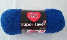 Red Heart Super Saver Yarn Royal Acrylic 7 oz