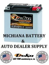 (AUTHENTIC) DEKA ETX14L HARLEY DAVIDSON & OTHERS AGM MAINTENANCE FREE BATTERY