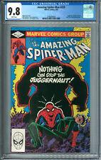 Amazing Spider-Man #229 SpiderMan CGC 9.8 NM/MT WP 6/82 1982 Juggernaut