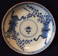 China Porcelaine de Chine XVIIIe brun de fer soucoupe .