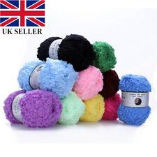 Warm Soft Natural Plush Fluffy Wool Yarn Hand knitting Coral cashmere Velvet