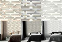 Arthouse Retro Link Motif 10m Wallpaper 3 Colours