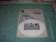 1963 Ih 30 Telescoping Landleveler Operators Manual
