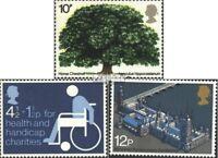 Großbritannien 645,668,686 (kompl.Ausg.) postfrisch 1973 Sondermarken