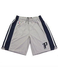 Detroit Pistons 3XL Adidas Authentic On-Court Team Issued Pro Game Shorts Gray