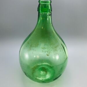 Vintage Large Glass Carboy Bottle Demijohn Planter Terrarium Vase
