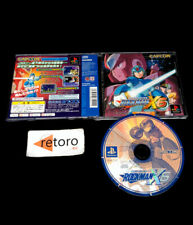 ROCKMAN X6 MEGAMAN sony playstation PSX Play Station PS1 JAP Capcom Mega Man
