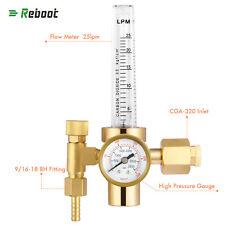 Co2 Flowmeter Copper Welding Regulator Gas Valve Mig Welding Accessory Cga320