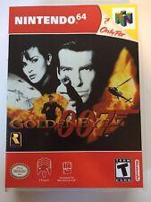 Golden Eye 007 - Nintendo 64 - Replacement Case - No Game
