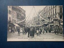 L456. Cpa. 69. Tarare. Fête Gymnique des 29 et 30 juin 1912. Décoration Pêcherie
