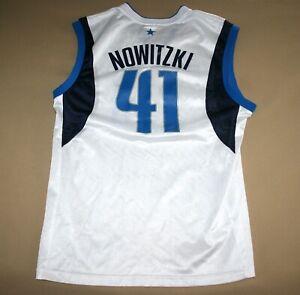 Dirk Nowitzki #41 Dallas Mavericks NBA Jersey Men M NEW