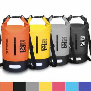 arteesol Drybag Wasserdicht Seesack Packsack Rafting Camping Rucksack 5L 10L 30L