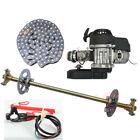 Complete Axle kit, T8F Chain Sprocket, 49cc Engine Motor Mini ATV Go kart