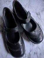Ziera Gummibear Black Leather Mary Jane Comfort Shoes Women's EUR 40 W