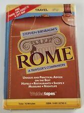 Stephen Birnbaums Rome A Travelers Companion Cassette Audiobook